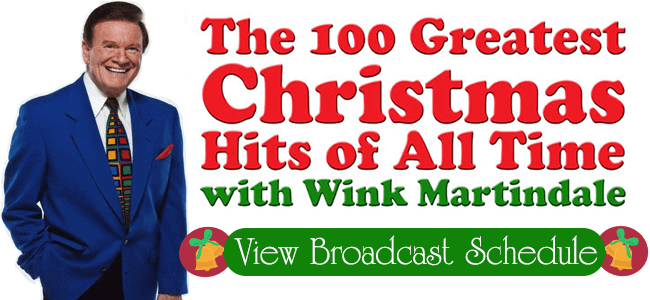 100 Greatest Christmas Songs of All Time with Wink Martindale