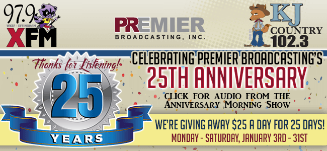 25th Anniversary of Premier Broadcasting
