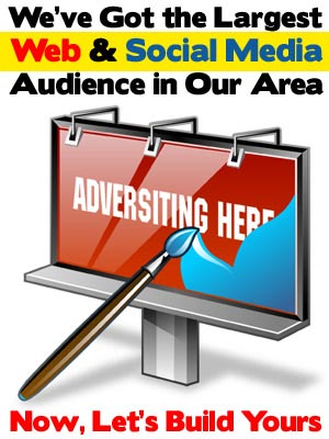 We have the largest web and social media audience in our area. Now lets build yours.