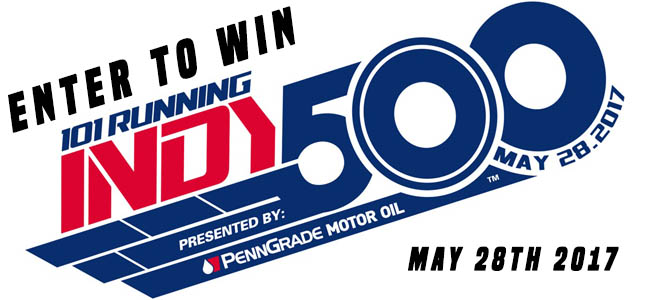 Indy 500 Ticket Give Away!