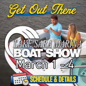 Lake Sara Boat Show
