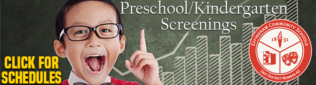 Preschool Screening!