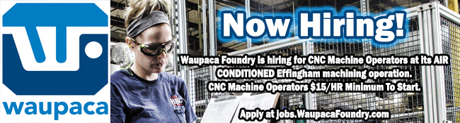 Waupaca Now Hiring