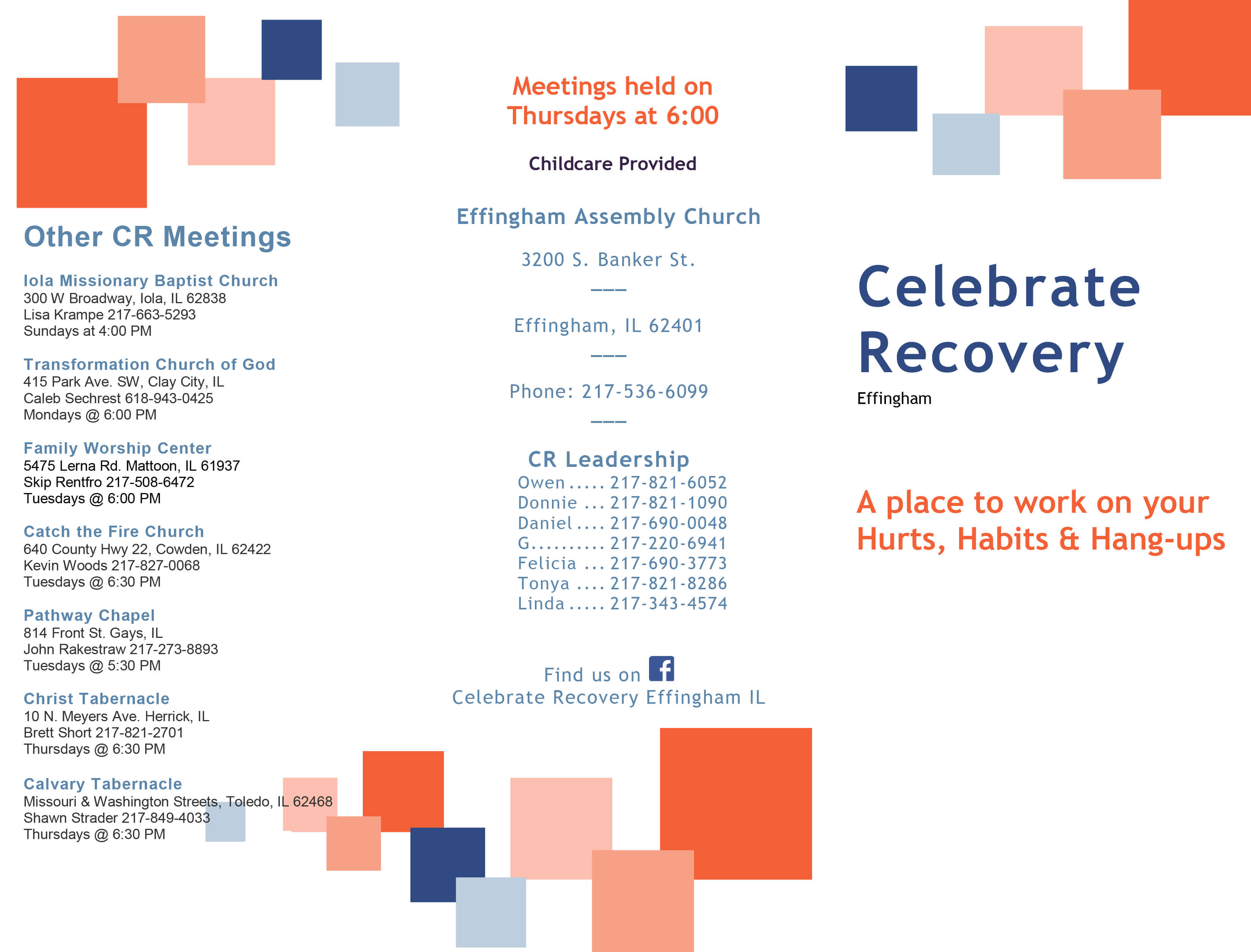 Celebrate Recovery 2019