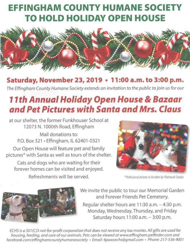 Humane Society Holiday 850