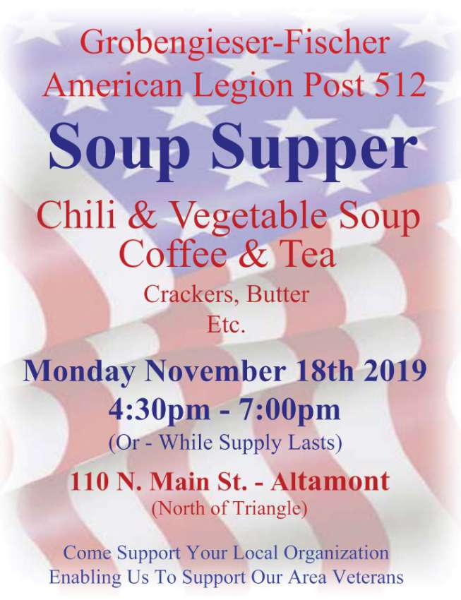 Soup Supper at Altamont 850