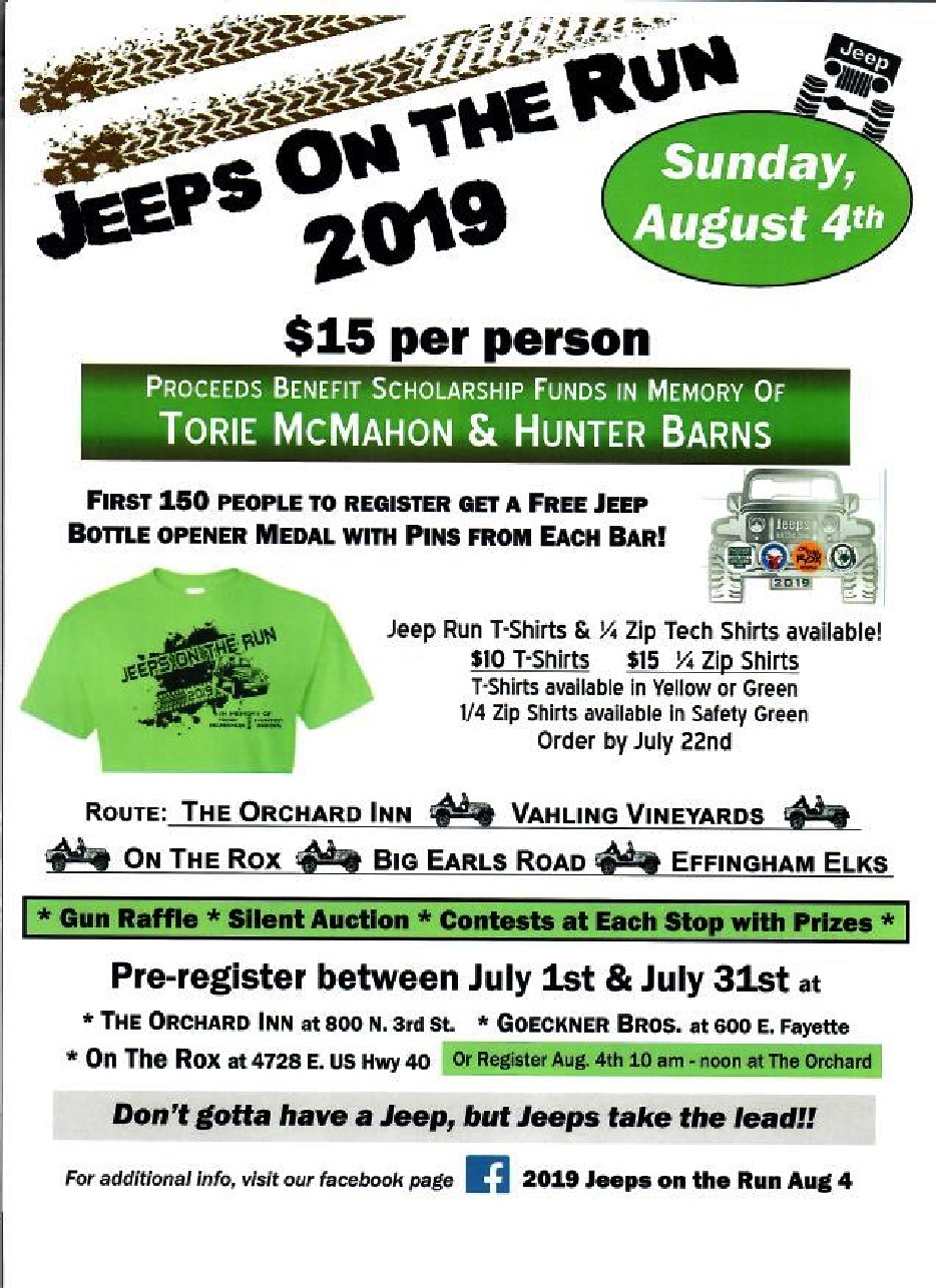 jeeps on run aug 2019